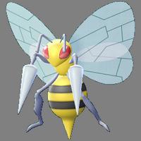 Modèle de Dardargnan - Pokémon GO