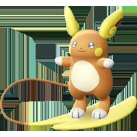 Pokémon raichu-d-alola