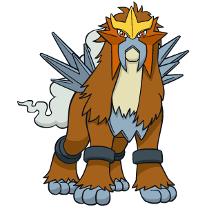 Distribution de Entei