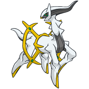 Distribution de Arceus