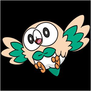Modèle de Brindibou - Pokémon GO