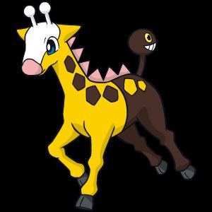 Artwork de Girafarig