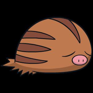 Modèle de Marcacrin - Pokémon GO