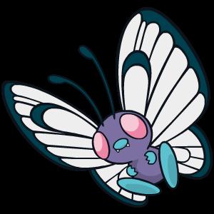 Fiche Pokédex de Papilusion / Butterfree
