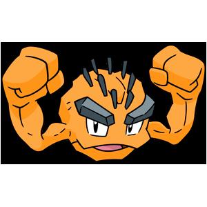 Artwork shiny de Racaillou d'Alola Pokémon Épée et Bouclier