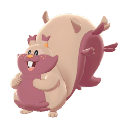 Artwork shiny de Rongrigou Pokémon Épée et Bouclier