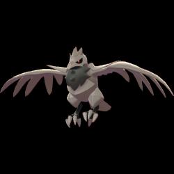Artwork shiny de Corvaillus Pokémon Épée et Bouclier