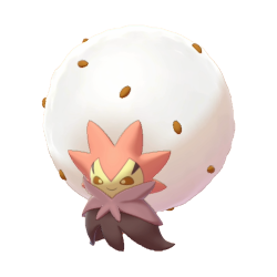 Artwork shiny de Blancoton Pokémon Épée et Bouclier