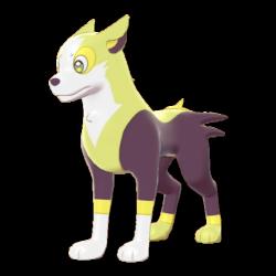 Artwork shiny de Fulgudog Pokémon Épée et Bouclier
