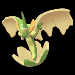 Artwork shiny de Pomdrapi Pokémon Épée et Bouclier