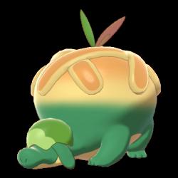 Artwork shiny de Dratatin Pokémon Épée et Bouclier
