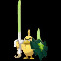 Artwork shiny de Palarticho Pokémon Épée et Bouclier
