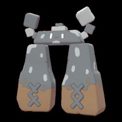 Artwork shiny de Dolman Pokémon Épée et Bouclier
