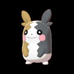 Artwork shiny de Morpeko Pokémon Épée et Bouclier