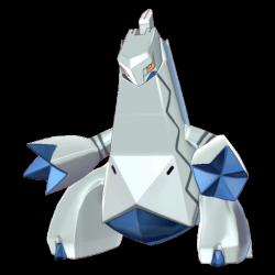Artwork shiny de Duralugon Pokémon Épée et Bouclier