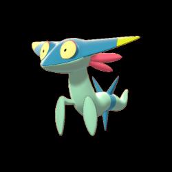 Artwork shiny de Fantyrm Pokémon Épée et Bouclier