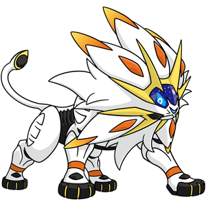 Artwork de Solgaleo
