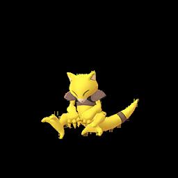 Sprite  de Abra - Pokémon GO