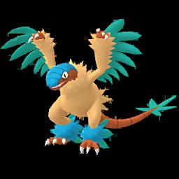 Sprite chromatique de Aéroptéryx - Pokémon GO
