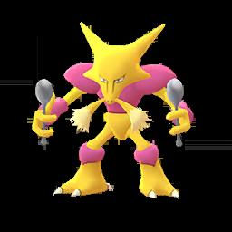 Sprite femelle chromatique de Alakazam - Pokémon GO