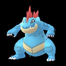 Sprite  de Aligatueur - Pokémon GO
