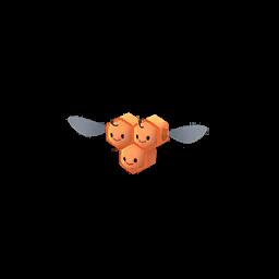 Sprite mâle chromatique de Apitrini - Pokémon GO