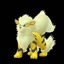 Sprite chromatique de Arcanin - Pokémon GO