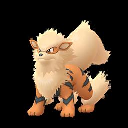 Modèle de Arcanin - Pokémon GO