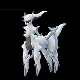 Sprite  de Arceus - Pokémon GO