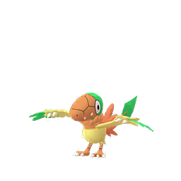 Sprite chromatique de Arkéapti - Pokémon GO