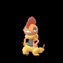 Modèle de Baggaïd - Pokémon GO