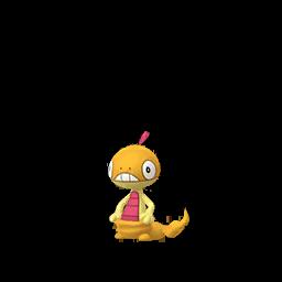 Sprite chromatique de Baggiguane - Pokémon GO