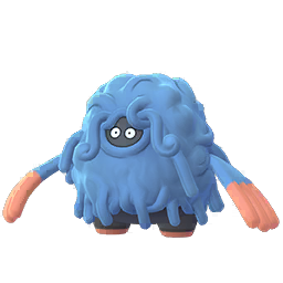 Sprite femelle de Bouldeneu - Pokémon GO