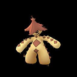 Sprite femelle chromatique de Cacturne - Pokémon GO