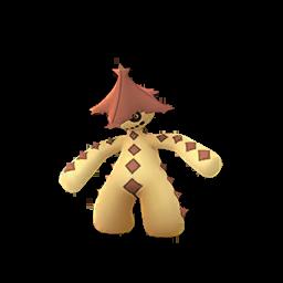 Modèle shiny de Cacturne - Pokémon GO