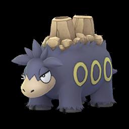 Sprite femelle chromatique de Camérupt - Pokémon GO