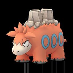 Sprite femelle de Camérupt - Pokémon GO
