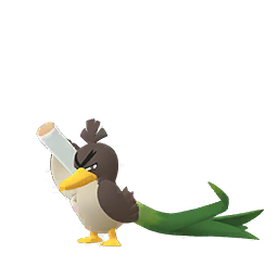 Sprite  de Canarticho - Pokémon GO
