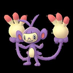 Sprite femelle de Capidextre - Pokémon GO