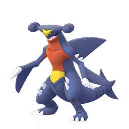 Sprite femelle de Carchacrok - Pokémon GO