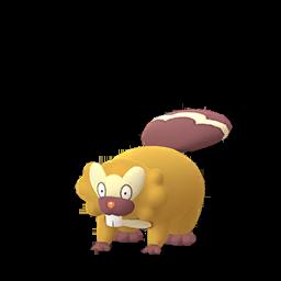 Sprite femelle chromatique de Castorno - Pokémon GO