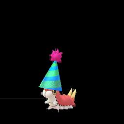 Pokémon chenipotte-fete