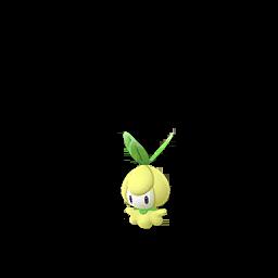 Sprite femelle chromatique de Chlorobule - Pokémon GO