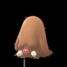 Sprite femelle de Cochignon - Pokémon GO