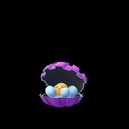 Sprite chromatique de Coquiperl - Pokémon GO