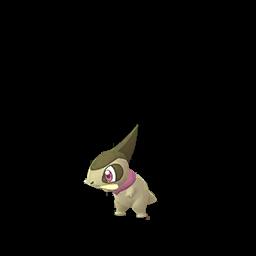 Sprite chromatique de Coupenotte - Pokémon GO