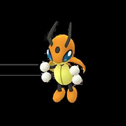 Sprite mâle chromatique de Coxyclaque - Pokémon GO