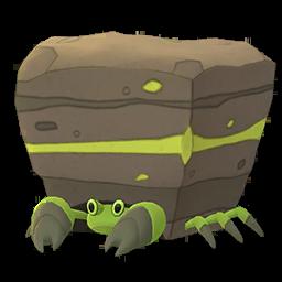 Sprite chromatique de Crabaraque - Pokémon GO