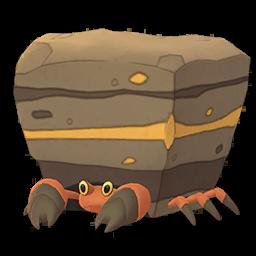 Modèle de Crabaraque - Pokémon GO