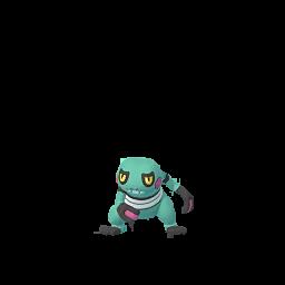 Sprite femelle chromatique de Cradopaud - Pokémon GO